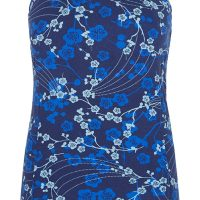 Asquith Bamboo & Organic Cotton Boatneck – Japanese Floral