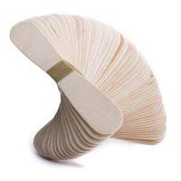 Eco-Friendly Wooden Cosmetic Spatulas