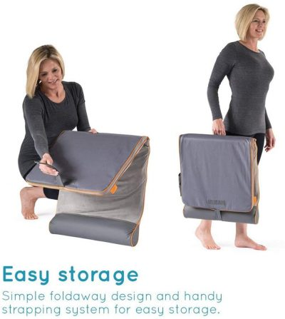 STRETCH - Yoga Mat with Adjustable Back Body Stretching - Remote Control - Easy Storage