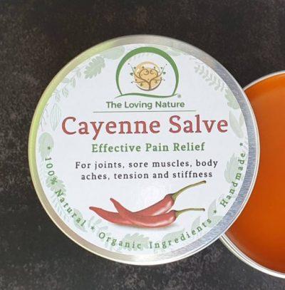 Cayenne Pain Killer Salve -Herbal Relief