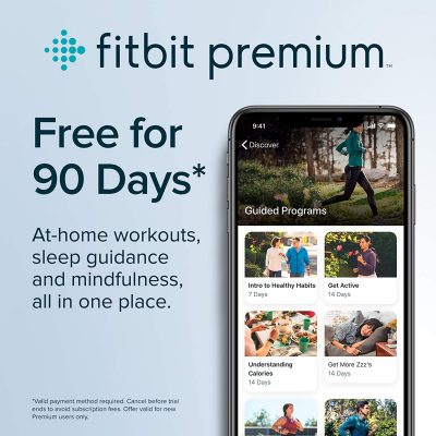 Fitbit Inspire HR Health & Fitness Tracker with Auto-Exercise Recognition